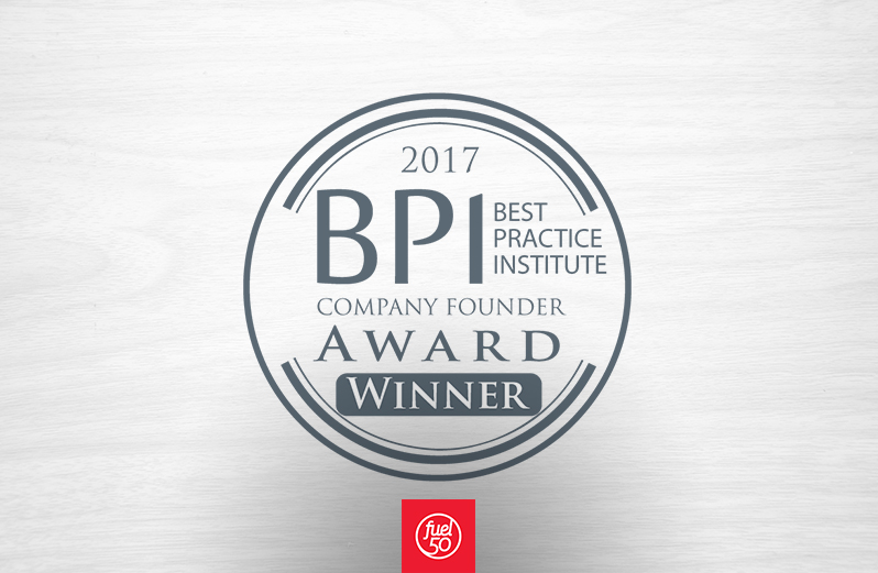 Fuel50 wins BPI Company Founders Award, Article by Fuel50