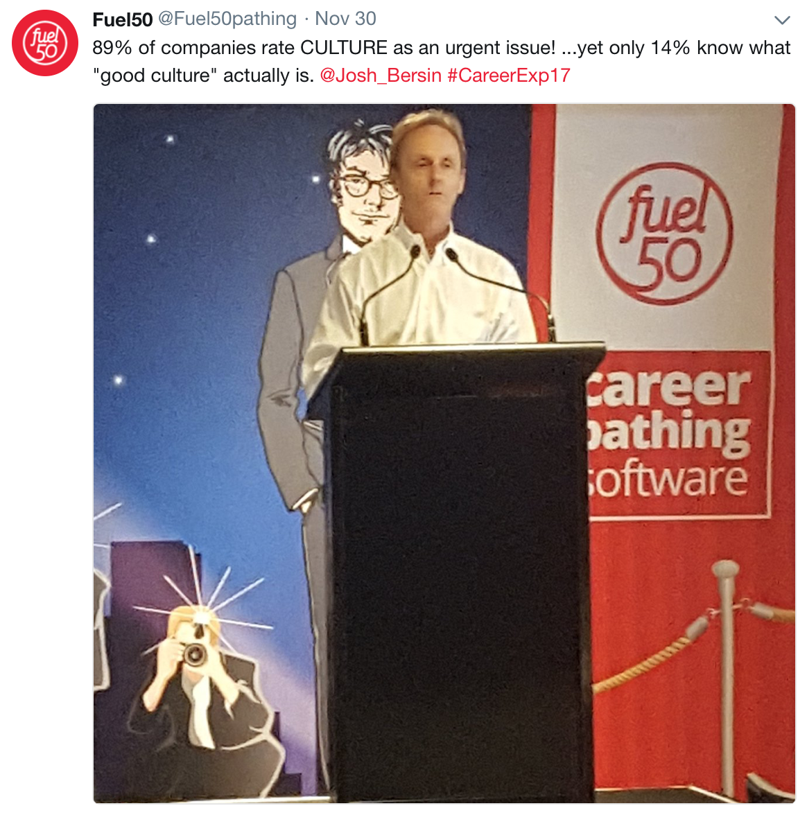 Career Experience Conference & Awards by Fuel50 - Josh Bersin
