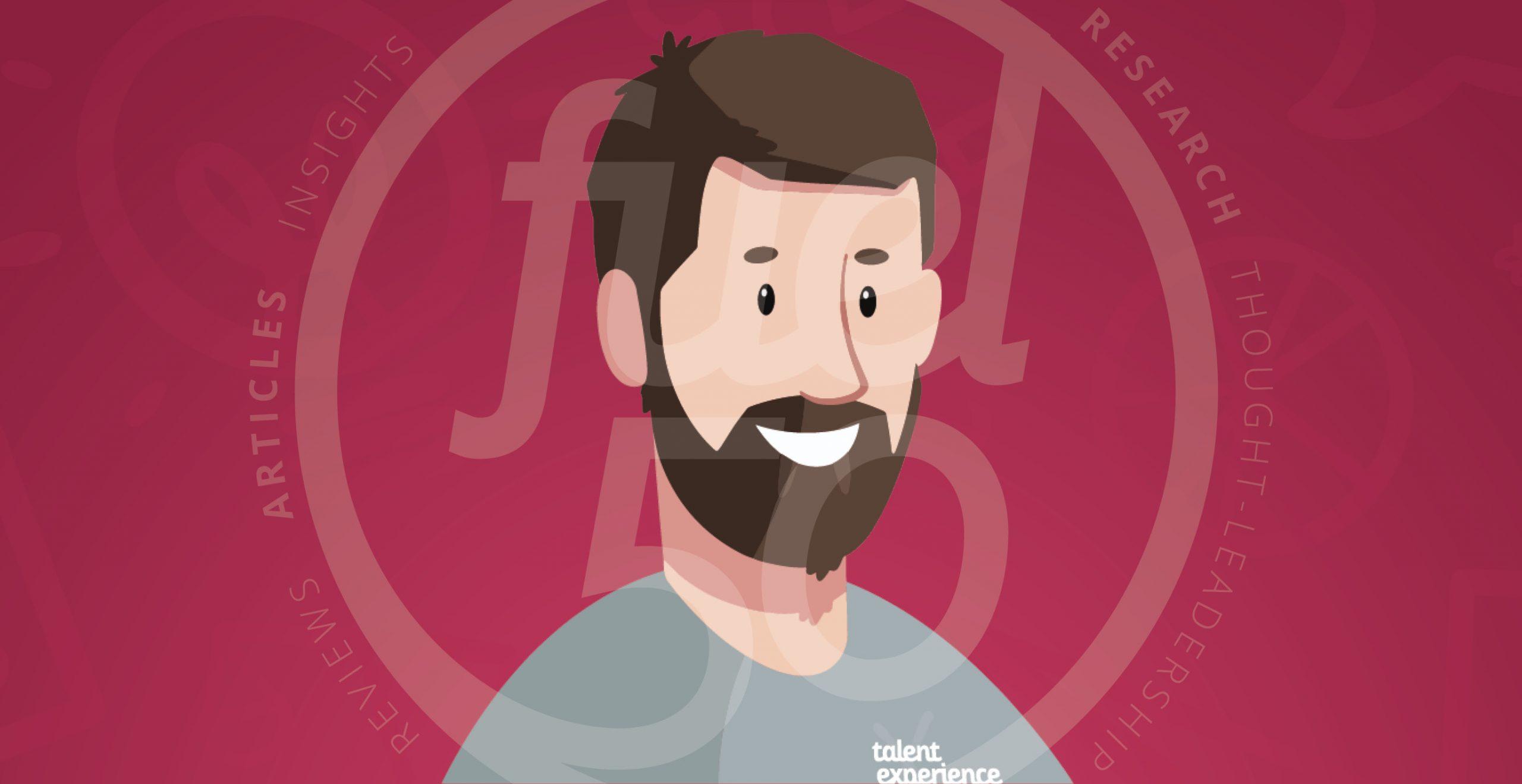 Brent Skinner Caricature Best Practice for Employee Retention Podcast Episode Art