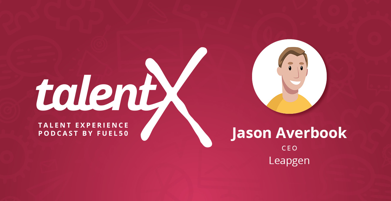 Jason Averbook TalentX Podcast Fuel50