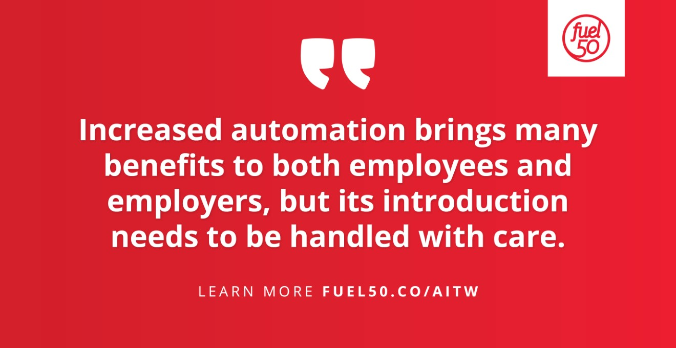 Automation in the Workplace Fuel50