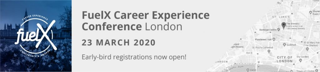 FuelX London Career Experience Conference 2020 Fuel50