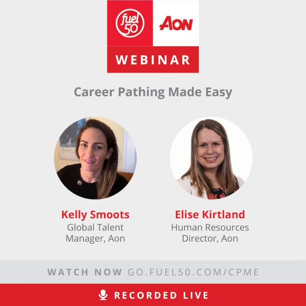 Career Pathing Fuel50 Webinar Aon