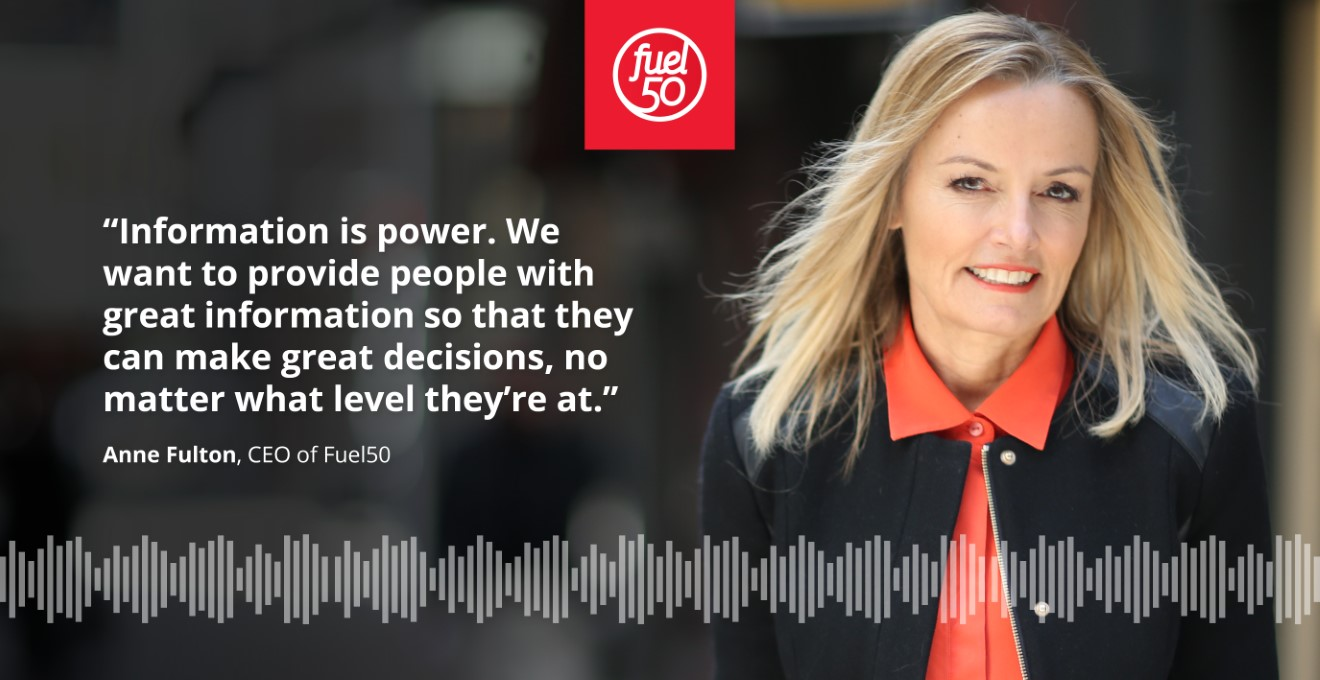 Anne Fulton on Information in the Now of Work Podcast