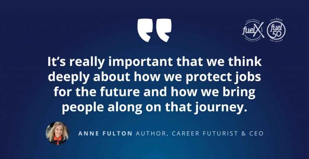 Anne Fulton FuelX New York Fuel50