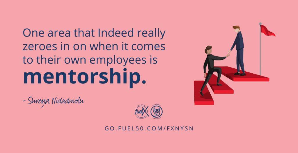Mentorship Indeed Fuel50 FuelX New York