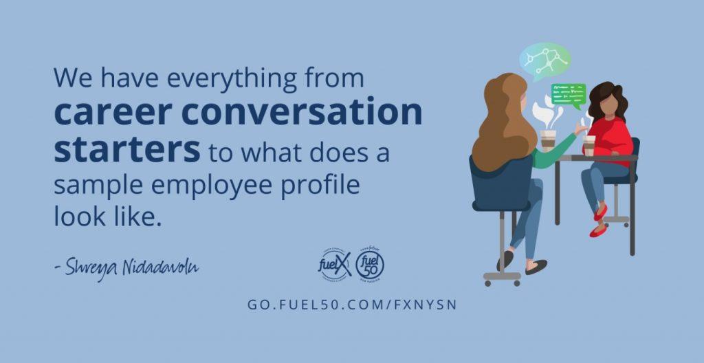 Career Conversations Fuel50 FuelX New York