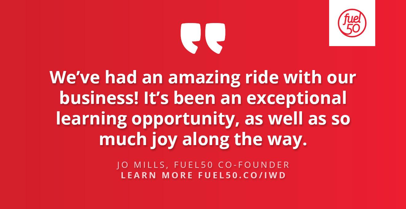 Jo Mills Quote IWD