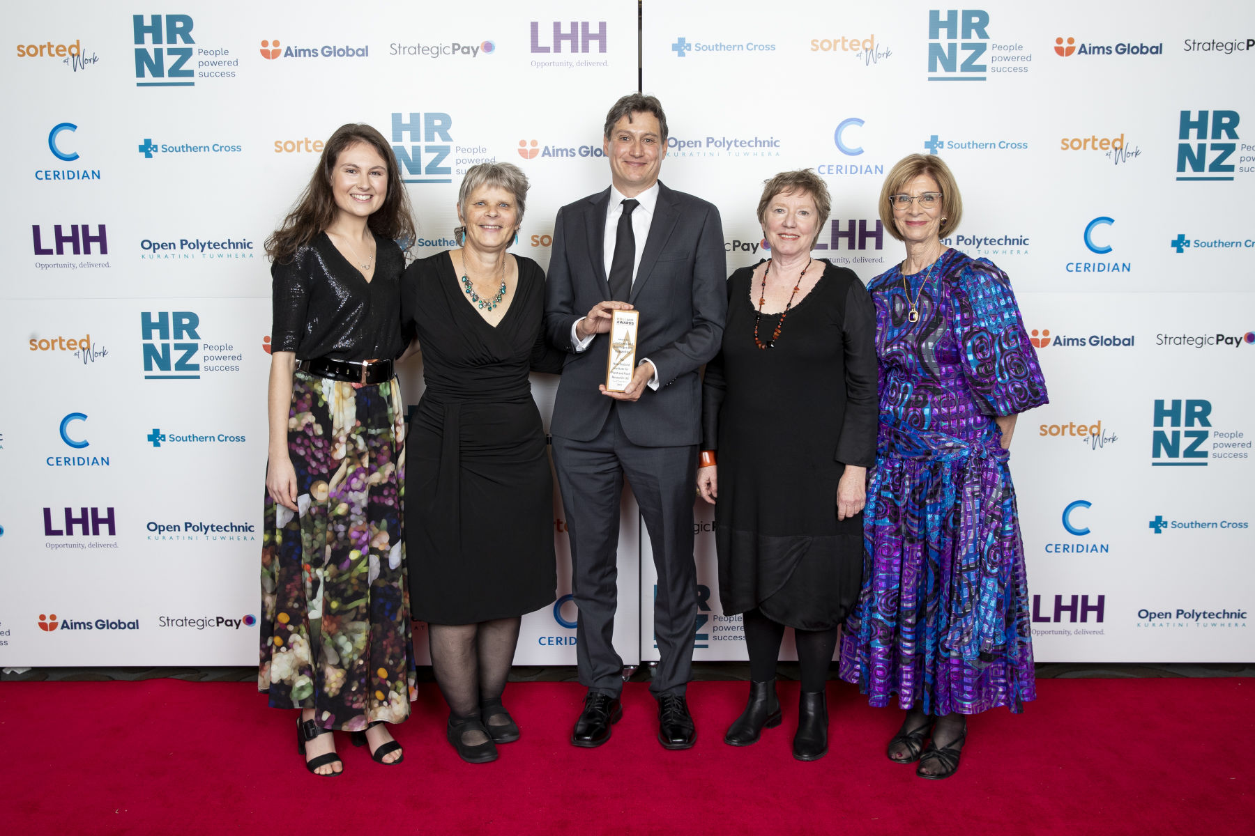Plant and Food Research HRNZ Award